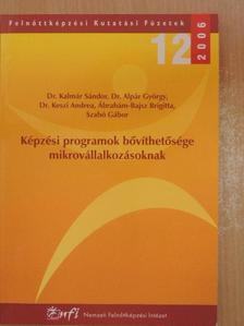 Szabó Gábor - Képzési programok bővíthetősége mikrovállalkozásoknak [antikvár]
