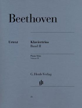 BEETHOVEN - KLAVIERTRIOS BAND II URTEXT (RAPHAEL / LAMPE)