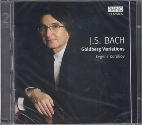 Bach - GOLDBERG VARIATIONS 2CD EVGENI KOROLIOV
