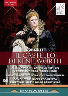 DONIZETTI - IL CASTELLO DI KENILWORTH DVD FRIZZA