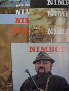 Balin Gyula - Nimród 1986. (nem teljes évfolyam) [antikvár]