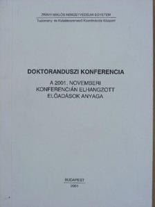 Varga Imre - Doktoranduszi konferencia [antikvár]