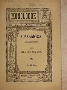 Hevesi József - A szamócza [antikvár]