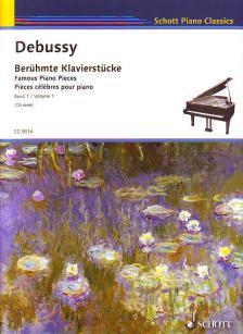 DEBUSSY - BERÜHMTE KLAVIERSTÜCKE BAND 1 (W.OHMEN)