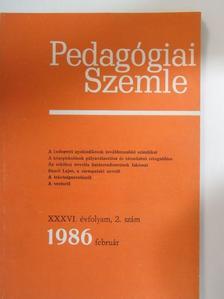 A. A. Frolov - Pedagógiai Szemle 1986. február [antikvár]