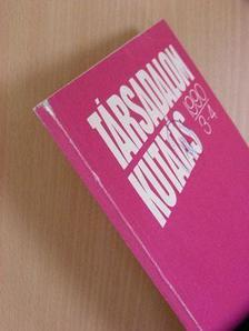 Angelusz Róbert - Társadalomkutatás 1990/3-4. [antikvár]