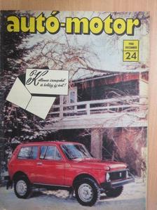 Almássy Tibor - Autó-Motor 1980. december [antikvár]