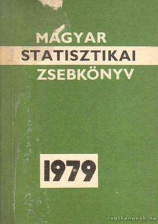 Magyar statisztikai zsebkönyv 1979 [antikvár]