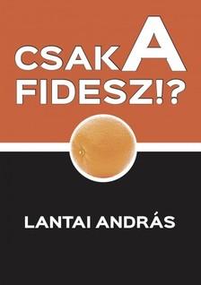 Lantai András - Csak a Fidesz!? - Politikai szösszenetek [eKönyv: epub, mobi]