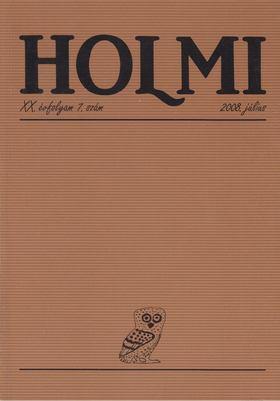 Réz Pál - Holmi 2008. július [antikvár]