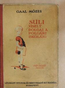 Gaal Mózes - Suli viselt dolgai a polgári iskoláig [antikvár]
