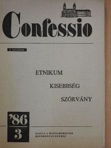 Balla D. Károly - Confessio 1986/3. [antikvár]