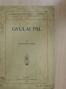 Voinovich Géza - Gyulai Pál [antikvár]