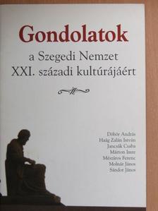 Döbör András - Gondolatok a Szegedi Nemzet XXI. századi kultúrájáért [antikvár]