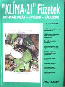 """Berki Imre - """"Klíma-21"""" Füzetek 2010/61. [antikvár]"""
