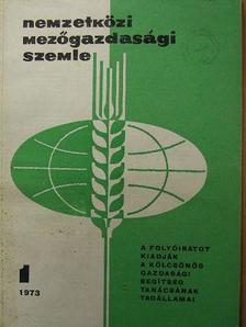 A. Angelov - Nemzetközi Mezőgazdasági Szemle 1973/1-6. [antikvár]