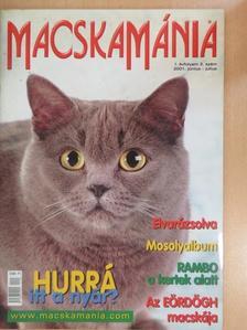 Bédy Eszter - MacskaMánia 2001. június-július [antikvár]
