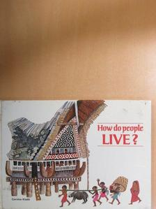 Boglár Lajos - How do people live? [antikvár]