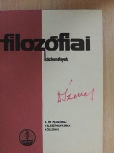 Bodnár István - Filozófiai közlemények 1971/1. [antikvár]