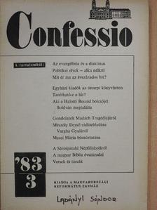Bartha Tibor - Confessio 1983/3. [antikvár]