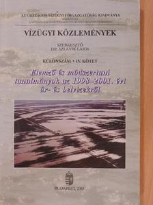 Bakonyi Péter - Vízügyi Közlemények - Különszám IV. [antikvár]