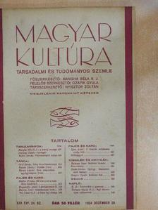 B. B. - Magyar Kultúra 1934. december 20. [antikvár]