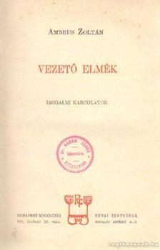 Ambrus Zoltán - Vezető elmék [antikvár]