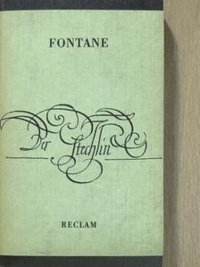 Theodor Fontane - Der Stechlin [antikvár]