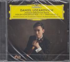Bach - VIOLIN CONCERTOS NOS. 1 & 2 - PARTITA NO.2 CD DANIEL LOZAKOVICH