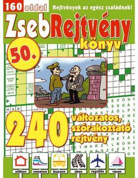 CSOSCH KIADÓ - ZsebRejtvény Könyv 50.