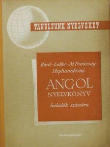 Bárd Miklós - Angol nyelvkönyv haladók számára [antikvár]