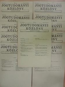 Ádám Antal - Jogtudományi Közlöny 1987. (nem teljes évfolyam) [antikvár]
