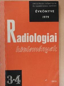 Arató Ilona - Radiologiai közlemények 1979/3-4. [antikvár]