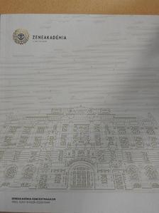 Békéssy Lili - Zeneakadémia koncertmagazin 2015. szeptember-december [antikvár]