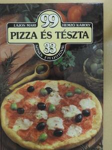 Hemző Károly - 99 pizza és tészta 33 színes ételfotóval [antikvár]