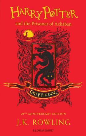 J. K. Rowling - Harry Potter and The Prisoner of Azkaban (Gryffindor Piros)
