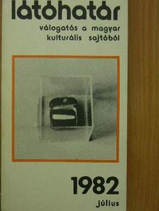 Barcsay Jenő - Látóhatár 1982. július [antikvár]