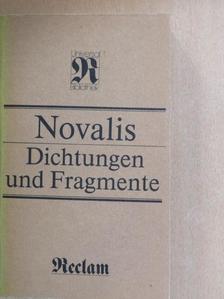Novalis - Dichtungen und Fragmente [antikvár]