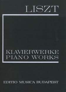 Liszt Ferenc - LISZT ÖSSZKIADÁS PÓTKÖTET 13. ANNÉES DE PELERINAGE,DEUXIEME ANNÉE, ITALIE