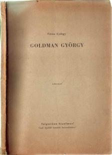 Vértes György - Goldman György [antikvár]