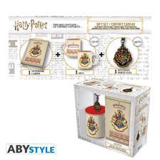 Harry Potter ajándékcsomag - bögre, kulcstartó, jegyzetfüzet