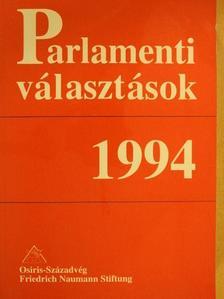 Angelusz Róbert - Parlamenti választások 1994 [antikvár]