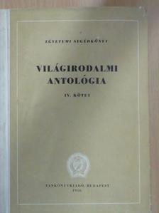 Abaj Kunanbajev - Világirodalmi antológia IV. [antikvár]