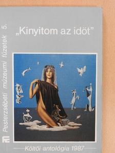 """Adorján Gyula - """"Kinyitom az időt"""" (dedikált példány) [antikvár]"""