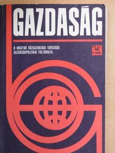 Bajusz Rezső - Gazdaság 1985/4. [antikvár]