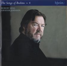 BRAHMS... - THE COMPLETE SONGS - 4 CD ROBERT HOLL, GRAHAM JOHNSON