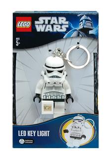 Lego Star Wars világító kulcstartó Stormtrooper