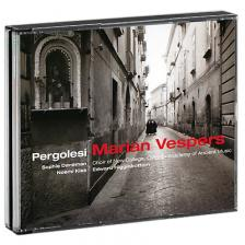 PERGOLESI - MARIAN VESPERS 2CD EDWARD HIGGINBOTTOM