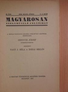 b. - Magyarosan 1933. május-június [antikvár]