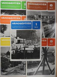 Abonyi Gyuláné - Városépítés 1977/1-6. [antikvár]